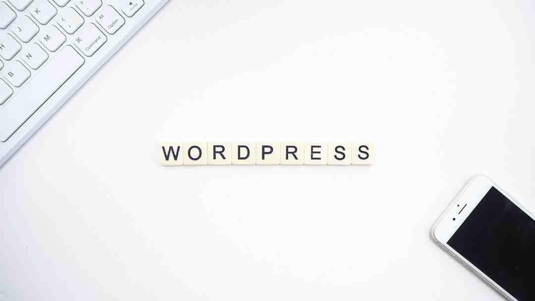 Comment modifier wordpress